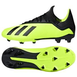 Fodboldsko adidas X 18.3 Fg M BB9367 rød rød ButyModne.pl