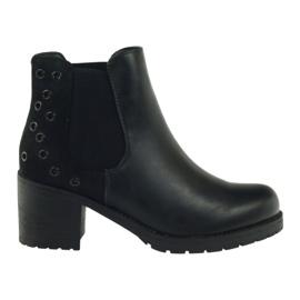 Vinterstøvler sort Sergio Leone 527