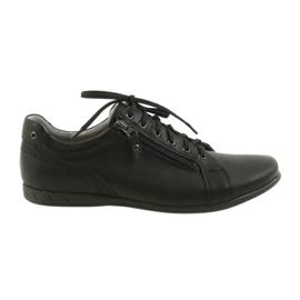 Sort Riko mænds sko tilfældige sko 856