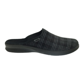 Sort Befado mænds sko tøfler 548m011 tøfler