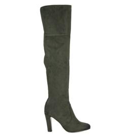 Vinceza Støvler på vinzza grøn