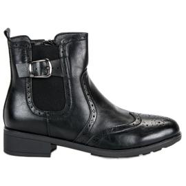 Filippo Sort Jodhpur støvler
