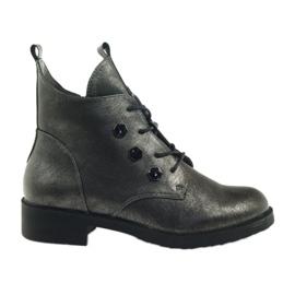 Støvler med studs Sergio Leone 308 grå