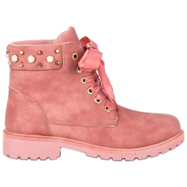 McKey Pink Casual Trappers