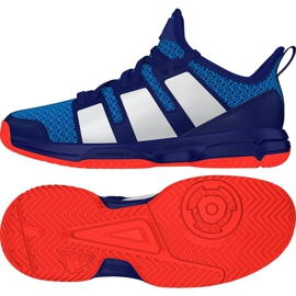 Adidas Stabil Jr. Håndboldsko blå