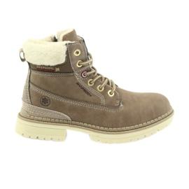 American Club Amerikanske støvler bootees vinter støvler 708122 brun