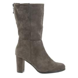 Støvler mørke støvler Coffe Sergio leone brun