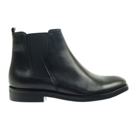 Edeo støvler sort slip-in 3244