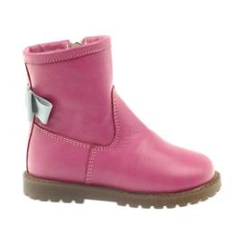 Støvler med pink bue Bartuś 317