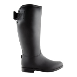 Damestøvler sort D58 Sort
