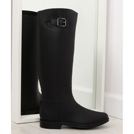 Sort D60 Black Women's black galoshes