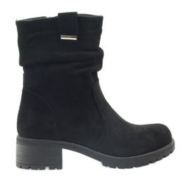 Støvler sort Suede Filippo