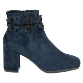 Kylie Suede marineblå støvler