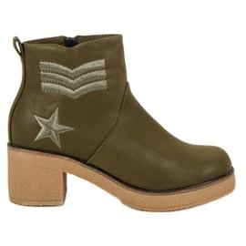 Kylie Militære kvinder støvler grøn