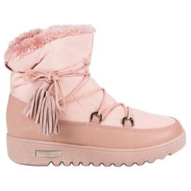 MCKEYLOR sne støvler pink