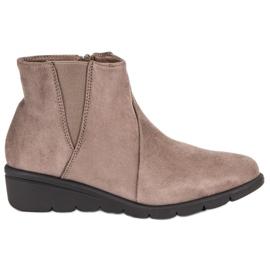 Kylie Suede Støvler brun
