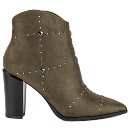 Kylie Suede Khaki støvler