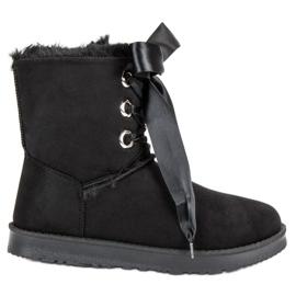 Kylie sort Bundet Snow Boots