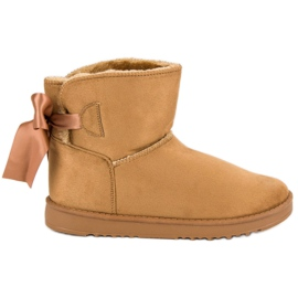 Brun Mukluki sne støvler