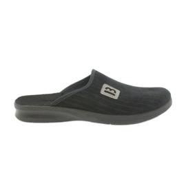 Befado mænds sko tøfler 548m015 sort
