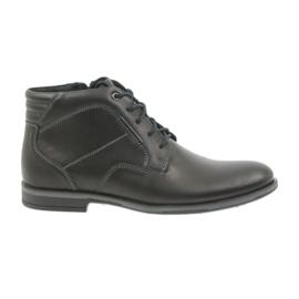 Riko mænds sko støvler Jodhpur 861 sort