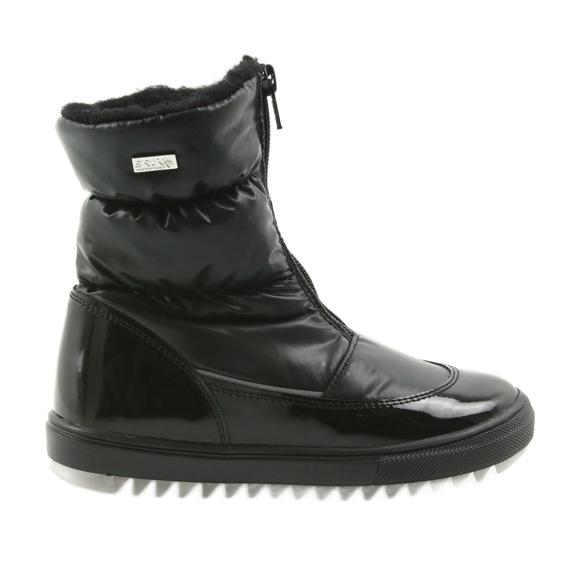 Støvler med membran Bartek 47405 sort