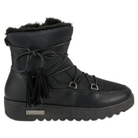 Sort MCKEYLOR sne støvler