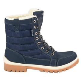 Blå MCKEYLOR sne støvler