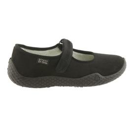 Befado kvinders sko pu - ung 197D002 sort