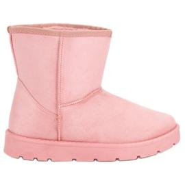 Seastar pink Mukluki sne støvler