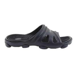 American Club Amerikanske mænds pool sko tøfler navy