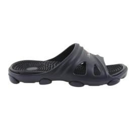 American Club navy Amerikanske mænds pool sko tøfler