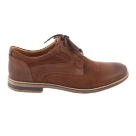 Brun Riko lav-cut mænds sko 831