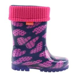 Demar gummi støvler børn varme sokker hjerter