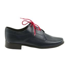 Miko sko børnesko Communion navy