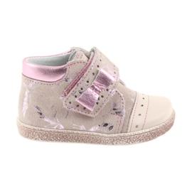 Ren But Velcro støvler Baby sko Ren Men 1535 pink flamingos