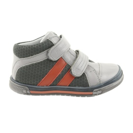 Ren But Boote sko Velcro støvler Ren Men 3225 grå / orange