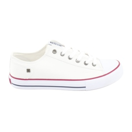 Big Star Sneakers bundet hvid 174271