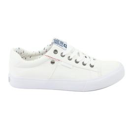 Big Star Mænds sneakers bundet hvid 174097