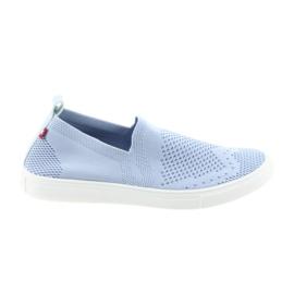 Big Star slipony slip-on sneakers 274785 blå