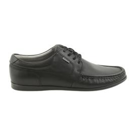 Badura mænds loafers bundet 3175 sort
