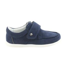 Bartek navy Casual sko til drenge 58599 granat
