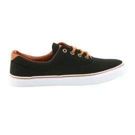 American Club Herresko sort sneakers LH03