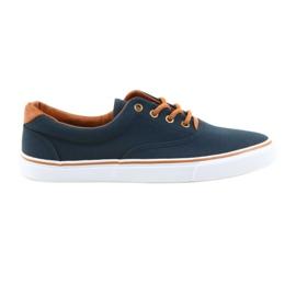 American Club Mænd sneakers navy blå knust LH03