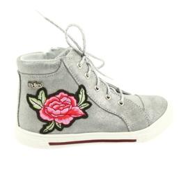 Ren But grå Sko sko piger sølv Ren Men 3237