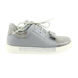 Ren But Ren sko 3303 grå lædersko