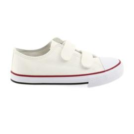 Atletico hvid Velcro sneakers
