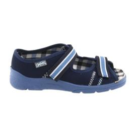 Sandaler børnesko med velcro Befado 969y101 navyblå