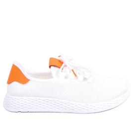Sportssko hvid og orange NB281 Orange
