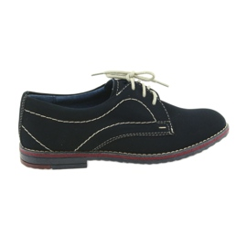 Drenge sko Gregors 429 navy blue
